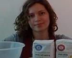 Lauren with Baking ingredients